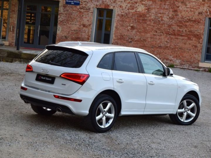 Audi Q5 3.0 V6 TDI 258CH CLEAN DIESEL S LINE QUATTRO S TRONIC 7 BLANC Occasion - 2
