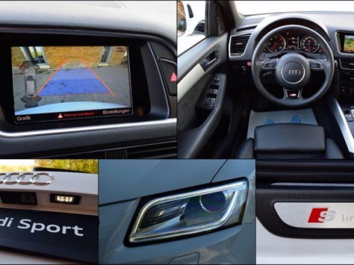 Audi Q5 3.0 V6 TDI 258CH CLEAN DIESEL S LINE QUATTRO S TRONIC 7 BLANC Occasion - 3