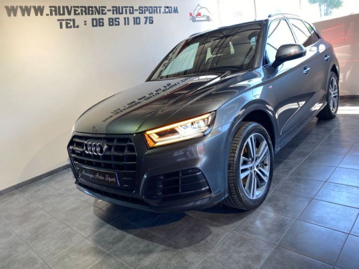 Audi Q5 3.0 V6 TDI 286CH S LINE QUATTRO GRIS FONCE - 1