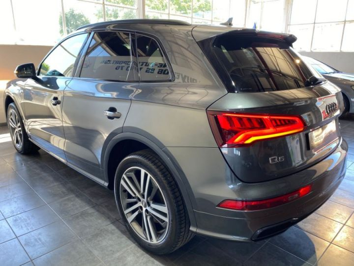 Audi Q5 3.0 V6 TDI 286CH S LINE QUATTRO GRIS FONCE - 4
