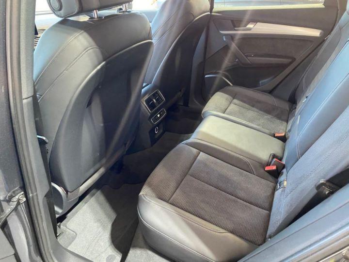 Audi Q5 3.0 V6 TDI 286CH S LINE QUATTRO GRIS FONCE - 12
