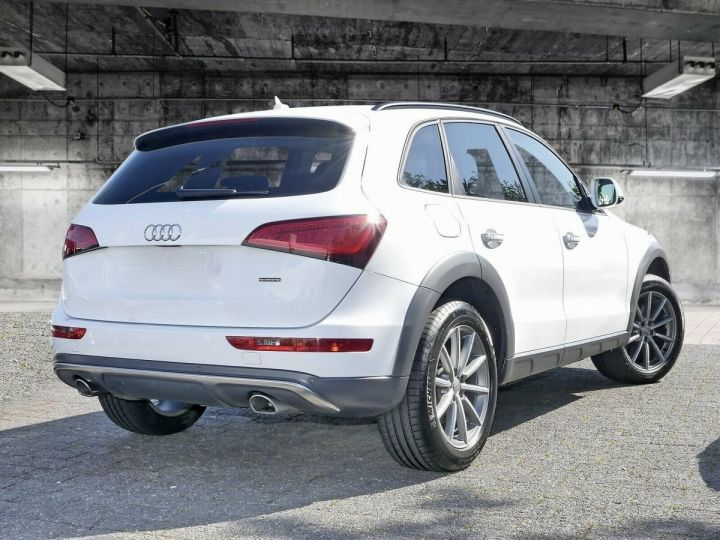 Audi Q5 AUDI Q5 3.0 TDI QUATTRO 258 cv S-tronic - Cuir - Bi-Xenon - JA 19 ' - Attache remorque BLANC - 2