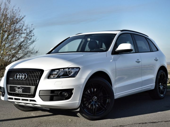 Audi Q5 MAGNIFIQUE AUDI Q5 3.0 V6 TDI QUATTRO 240ch STRONIC full options AVUS EXCLUSIVE 1ERE MAIN FBLS KMS BLANC IBIS - 3