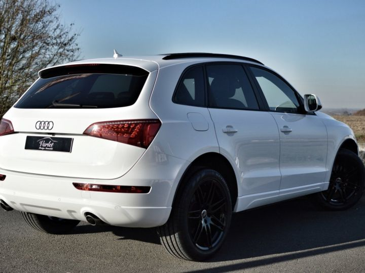 Audi Q5 MAGNIFIQUE AUDI Q5 3.0 V6 TDI QUATTRO 240ch STRONIC full options AVUS EXCLUSIVE 1ERE MAIN FBLS KMS BLANC IBIS - 4