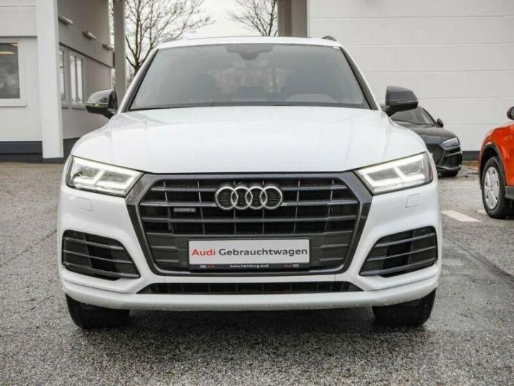 Audi Q5 Quattro S line  blanc - 2