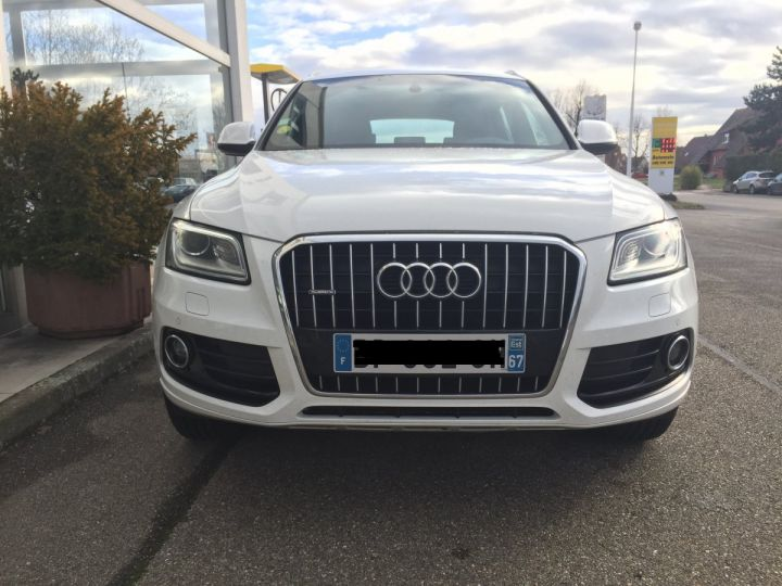 Audi Q5 QUATTRO S-LINE  2.0L TDI BLANC - 8