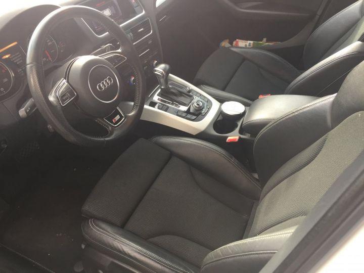Audi Q5 QUATTRO S-LINE  2.0L TDI BLANC - 13