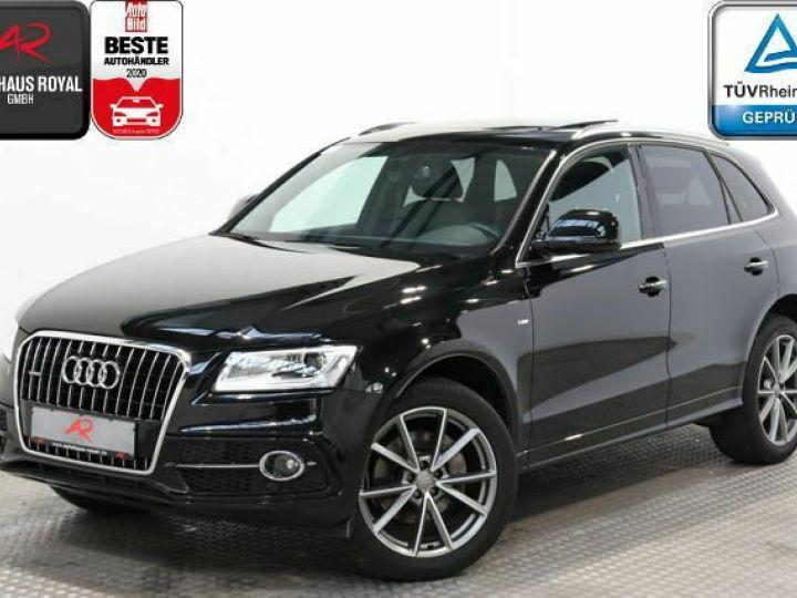 Audi Q5 s-line  noir - 1