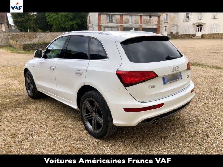 Audi Q5 S Line Deriv VP, TVA Recup, pas TVS, Toit pano Blanc Ibis Metal Occasion - 3
