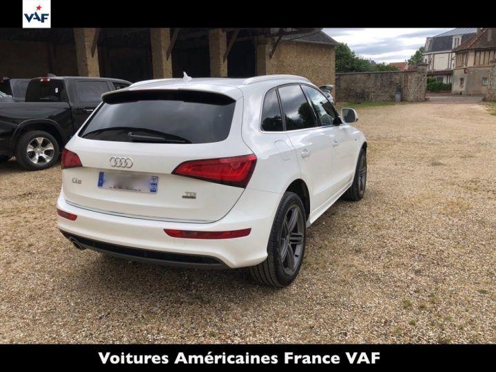 Audi Q5 S Line Deriv VP, TVA Recup, pas TVS, Toit pano Blanc Ibis Metal Occasion - 4