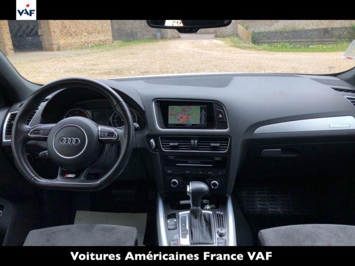 Audi Q5 S Line Deriv VP, TVA Recup, pas TVS, Toit pano Blanc Ibis Metal Occasion - 6