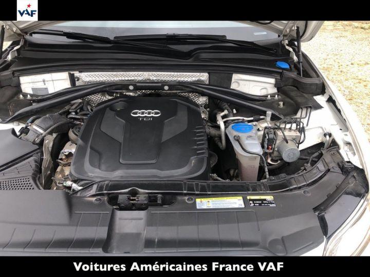 Audi Q5 S Line Deriv VP, TVA Recup, pas TVS, Toit pano Blanc Ibis Metal Occasion - 12