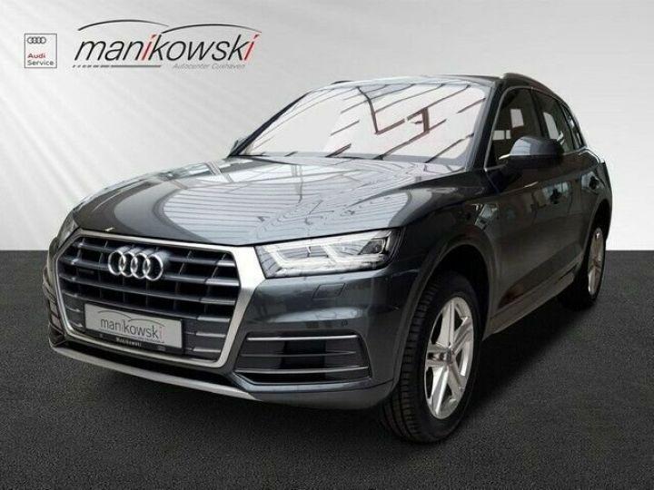 Audi Q5 Sportback Audi Q5 2.0 TDI quattro S-line/gps/Garantie 12 mois/  gris foncé - 1