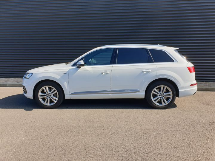 Audi Q7 2 ii v6 tdi 3.0 272 s line tiptronic 7 pl Blanc Occasion - 4