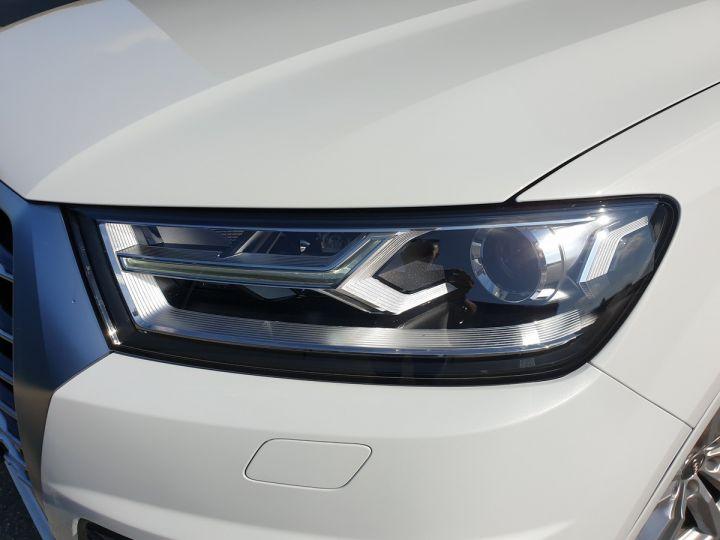 Audi Q7 2 ii v6 tdi 3.0 272 s line tiptronic 7 pl Blanc Occasion - 7