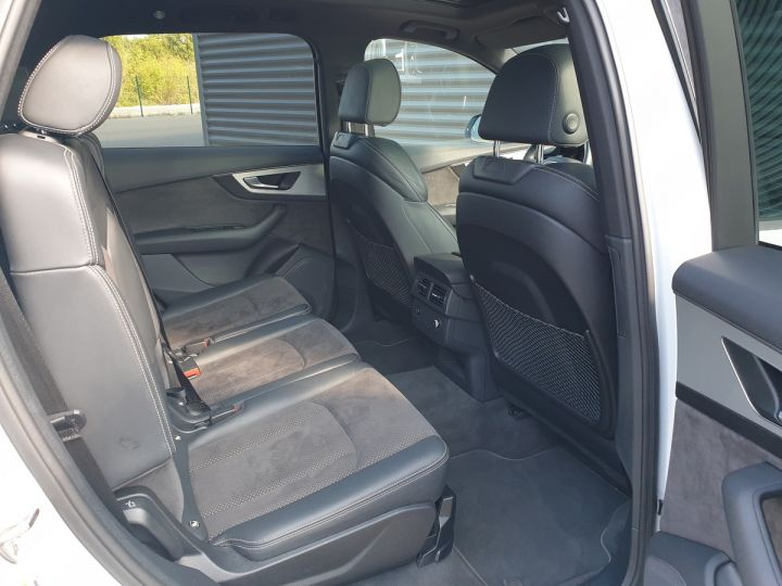 Audi Q7 2 ii v6 tdi 3.0 272 s line tiptronic 7 pl Blanc Occasion - 14