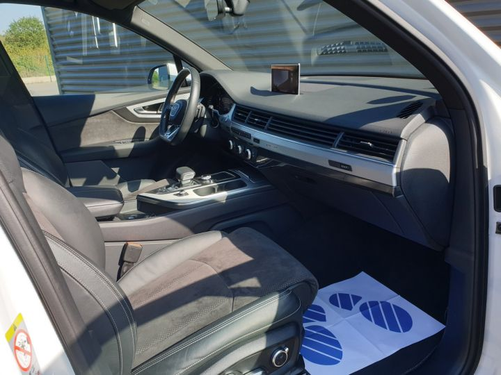 Audi Q7 2 ii v6 tdi 3.0 272 s line tiptronic 7 pl Blanc Occasion - 24