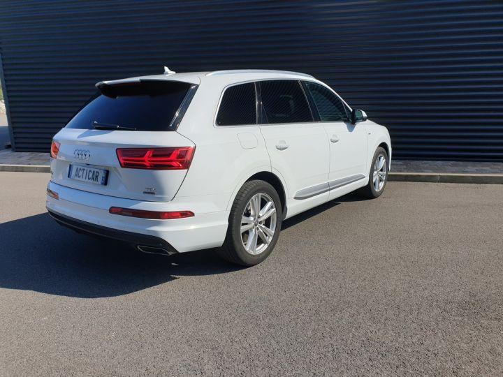 Audi Q7 2 ii v6 tdi 3.0 272 s line tiptronic 7 pl Blanc Occasion - 25