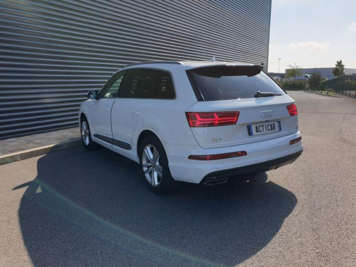 Audi Q7 2 ii v6 tdi 3.0 272 s line tiptronic 7 pl Blanc Occasion - 26
