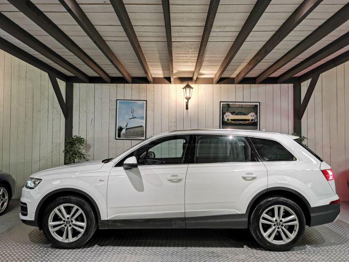 Audi Q7 3.0 TDI 218 CV SLINE QUATTRO BVA Blanc - 1