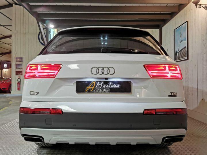 Audi Q7 3.0 TDI 218 CV SLINE QUATTRO BVA Blanc - 4