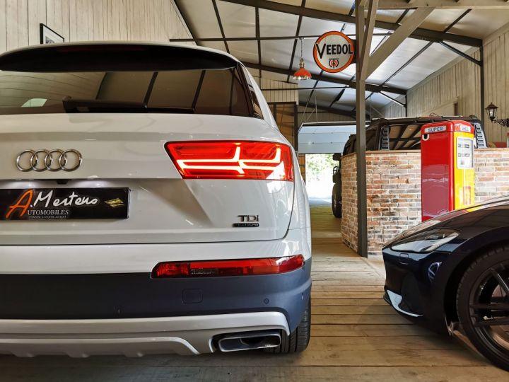 Audi Q7 3.0 TDI 218 CV SLINE QUATTRO BVA Blanc - 12