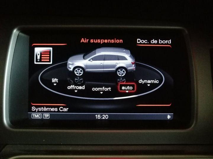 Audi Q7 3.0 TDI 245 CV AVUS QUATTRO BVA 7PL Noir - 12