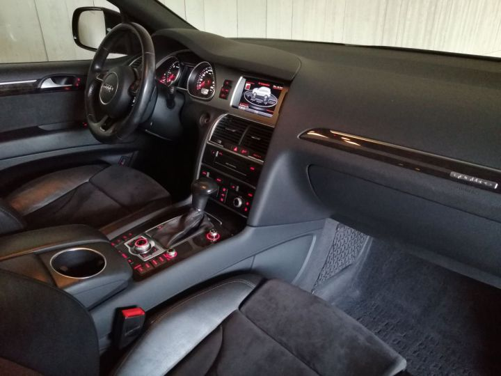 Audi Q7 3.0 TDI 245 CV SLINE QUATTRO BVA 7PL Noir - 7