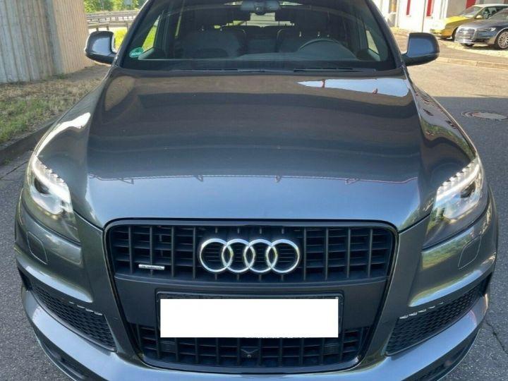 Audi Q7 3.0 TDI 245  quattro S-Line 6 places,toit panoramique gris daytona métal - 1