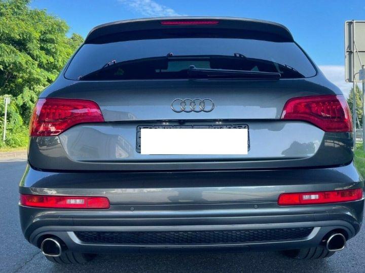 Audi Q7 3.0 TDI 245  quattro S-Line 6 places,toit panoramique gris daytona métal - 2