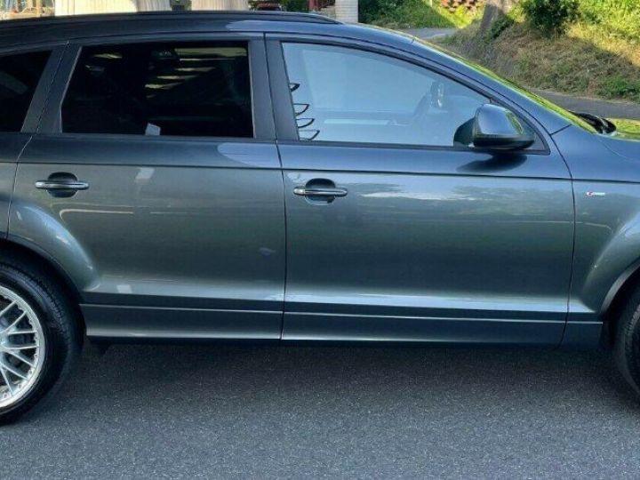 Audi Q7 3.0 TDI 245  quattro S-Line 6 places,toit panoramique gris daytona métal - 3