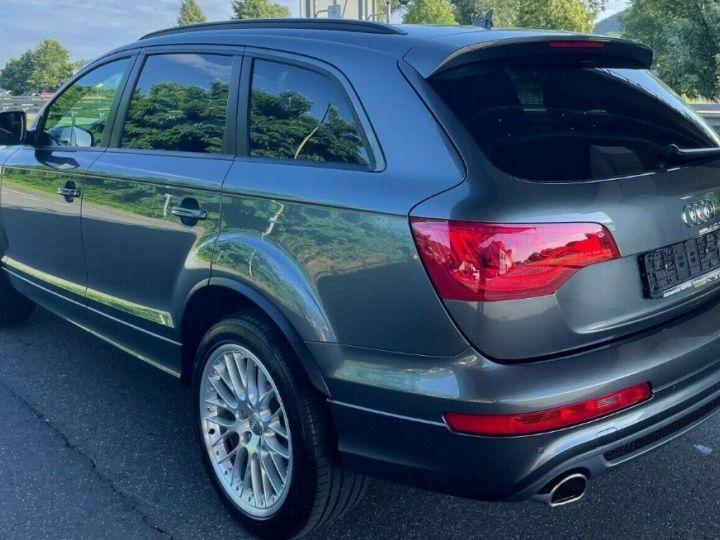 Audi Q7 3.0 TDI 245  quattro S-Line 6 places,toit panoramique gris daytona métal - 4