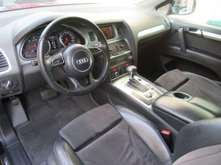 Audi Q7 3.0 V6 TDI 245CH FAP S LINE QUATTRO TIPTRONIC NOIR Occasion - 2