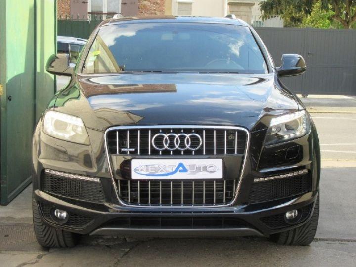 Audi Q7 3.0 V6 TDI 245CH FAP S LINE QUATTRO TIPTRONIC NOIR Occasion - 6