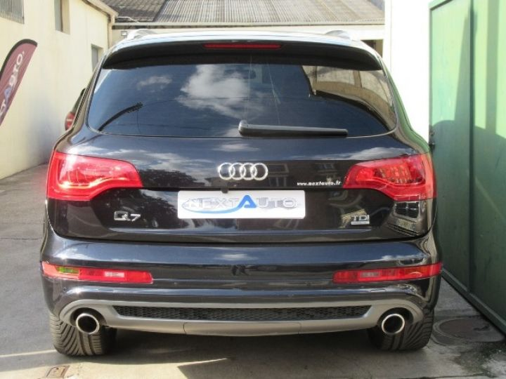 Audi Q7 3.0 V6 TDI 245CH FAP S LINE QUATTRO TIPTRONIC NOIR Occasion - 7