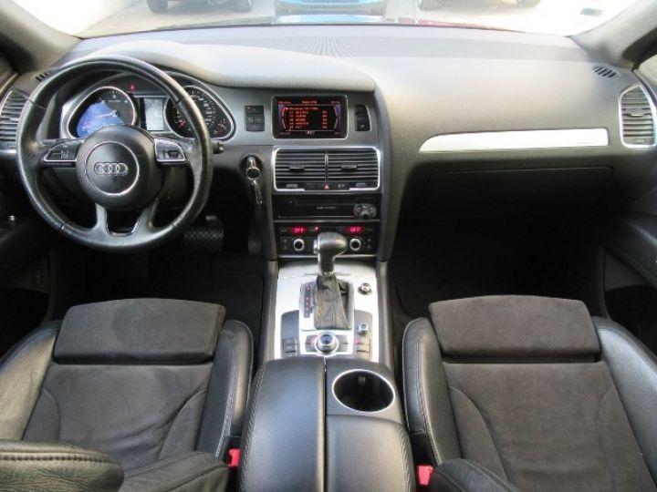 Audi Q7 3.0 V6 TDI 245CH FAP S LINE QUATTRO TIPTRONIC NOIR Occasion - 8