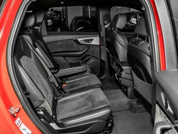Audi Q7 3.0 V6 TDI 272CH CLEAN DIESEL S LINE QUATTRO TIPTRONIC 7 PLACES ROUGE Occasion - 12