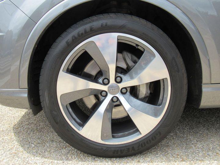 Audi Q7 3.0 V6 TFSI 333CH QUATTRO TIPTRONIC 7 PLACES Gris - 12
