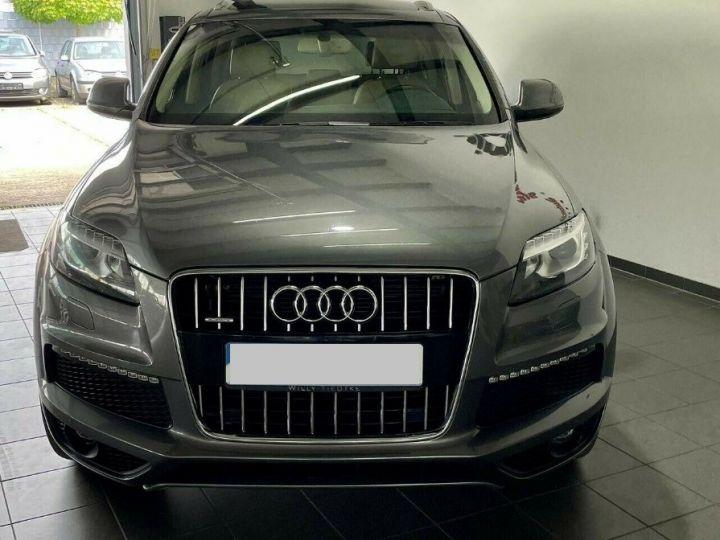 Audi Q7  4.2 TDI  340 quattro S-Line * 7 places  /08/2013 gris daytona métal - 1