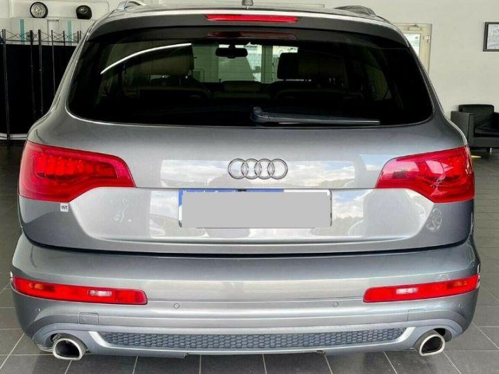 Audi Q7  4.2 TDI  340 quattro S-Line * 7 places  /08/2013 gris daytona métal - 3