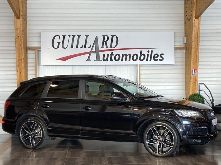 Audi Q7 4.2 V8 TDI 340ch QUATTRO S-LINE TIPTRONIC 7 PLACES NOIR - 3
