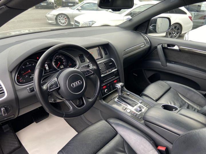 Audi Q7 4.2 V8 TDI 340ch QUATTRO S-LINE TIPTRONIC 7 PLACES NOIR - 10