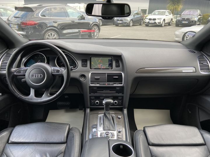 Audi Q7 4.2 V8 TDI 340ch QUATTRO S-LINE TIPTRONIC 7 PLACES NOIR - 11