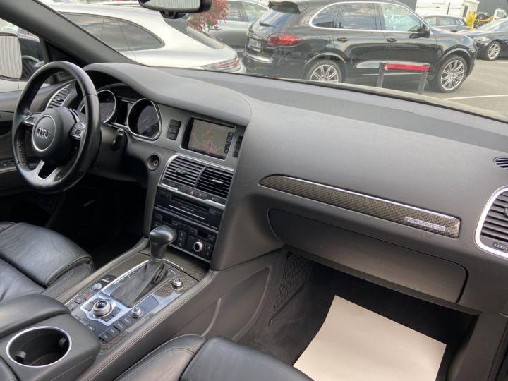 Audi Q7 4.2 V8 TDI 340ch QUATTRO S-LINE TIPTRONIC 7 PLACES NOIR - 12