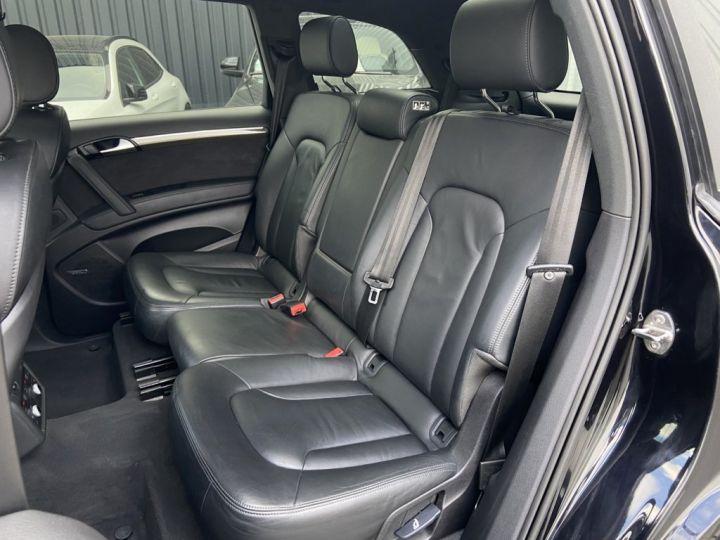 Audi Q7 4.2 V8 TDI 340ch QUATTRO S-LINE TIPTRONIC 7 PLACES NOIR - 17