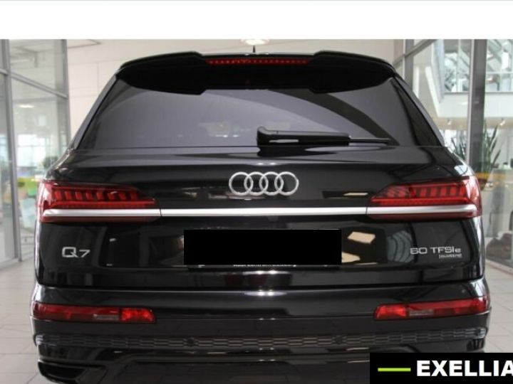 Audi Q7 60 TFSI e Suqttro S Line BLANC PEINTURE METALISE  Occasion - 3