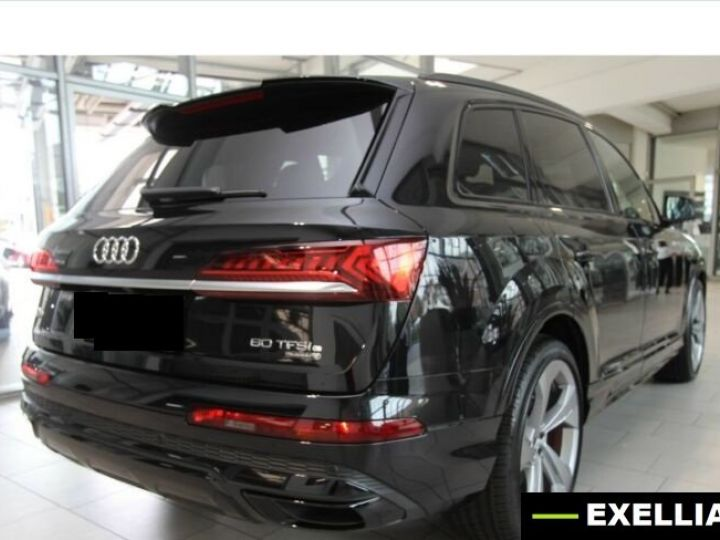 Audi Q7 60 TFSI e Suqttro S Line BLANC PEINTURE METALISE  Occasion - 4