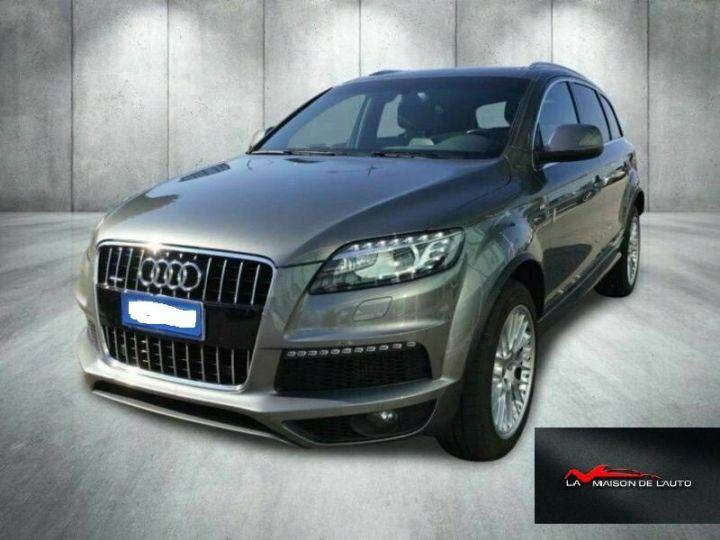 Audi Q7 Audi Audi Q7 3.0 tdi clean Advanced Plus quattro 245c Gris Peinture métallisée - 1