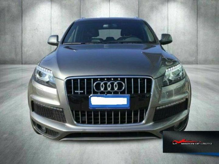 Audi Q7 Audi Audi Q7 3.0 tdi clean Advanced Plus quattro 245c Gris Peinture métallisée - 2