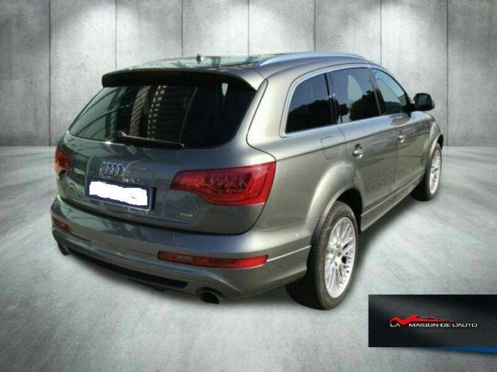 Audi Q7 Audi Audi Q7 3.0 tdi clean Advanced Plus quattro 245c Gris Peinture métallisée - 5